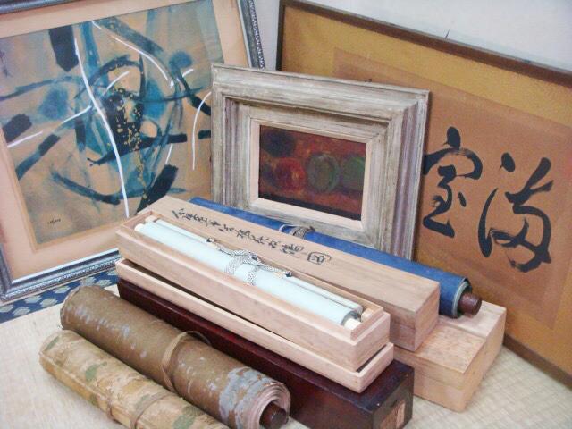 掛軸、日本画、西洋画